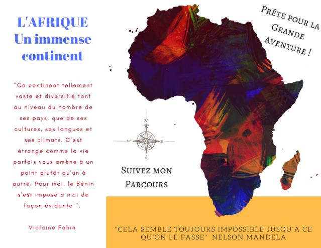Mon voyage L'afrique